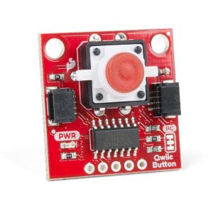 SparkFun buton LED rosu cu Qwiic0