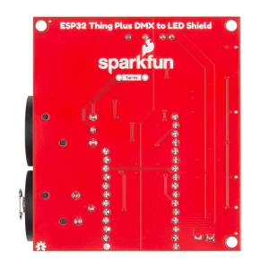 SparkFun ESP32 Thing Plus shield DMX la LED3