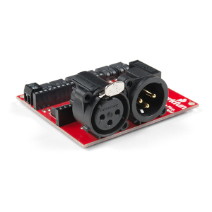 SparkFun ESP32 Thing Plus shield DMX la LED4