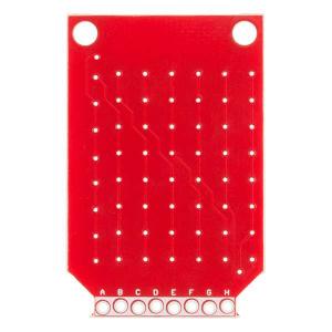 Matrice LED-uri Rosii - 8x73
