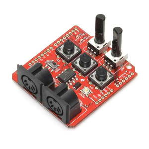 RETRAS - SparkFun MIDI Shield4