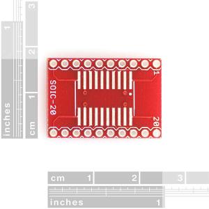 Circuit adaptor SOIC la DIP - 20 Pini2