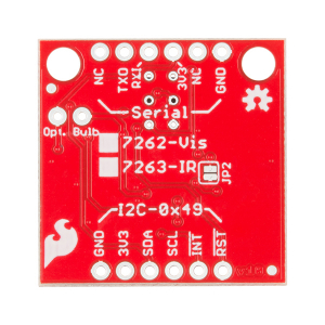 SparkFun Spectral Sensor Breakout - AS7262 Visible (Qwiic)3