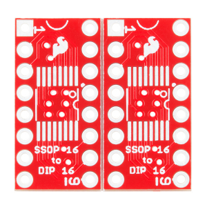 SparkFun SSOP to DIP Adapter - 16-Pin1