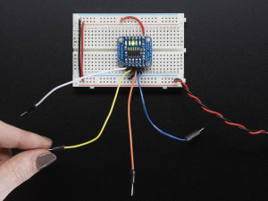 5-Pad Capacitive Touch Sensor Breakout - AT42QT10700