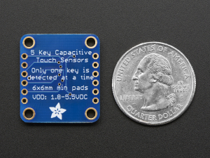 5-Pad Capacitive Touch Sensor Breakout - AT42QT10704