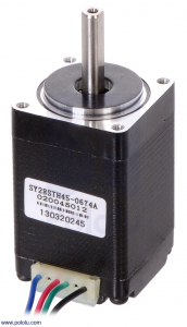 Motor stepper bipolar, 200 pasi, 4.5V, 0.67 A/faza0
