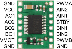 Motor Driver TB6612FNG Dual 1A1