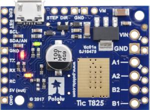 Tic T825 USB Multi-Interface Stepper Motor Controller [3]