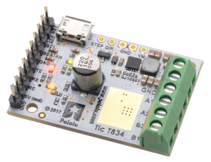 Tic T834 USB Multi-Interface Stepper Motor Controller1