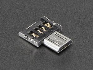 Adaptor Tiny OTG  - USB Micro la USB0
