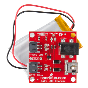 USB Incarcator LiPo - 1 Celula1