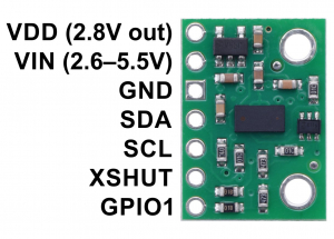 Senzor de distanta VL53L0X  200cm Max4
