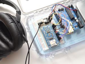 VS1053 Codec + MicroSD Breakout - MP3/WAV/MIDI/OGG Play + Record v41