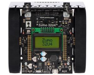 Robot  Zumo 32U4 (Asamblat cu Motoare 50:1 HP) [1]