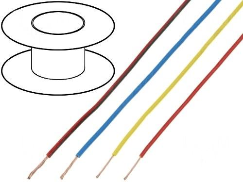Fir Conexiune Multifilar 0.22 mm^2 - Rosu 0