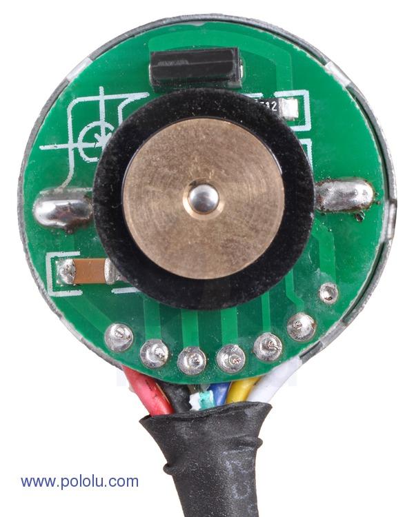 Retras Motor metalic cu cutie de viteze 25Dx52L mm 34:1 HP cu encoder 2