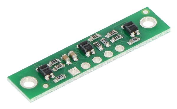 Bara 3  senzori linie infrarosu QTR-3A  analog 0