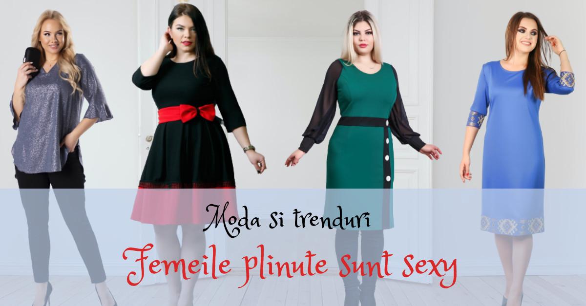Moda si trenduri - Femeile cu forme voluptoase sunt sexy