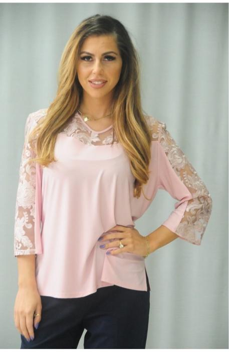 Bluze elegante ieftine dama - Bluza  marimi mari Karina Bulgaria 0