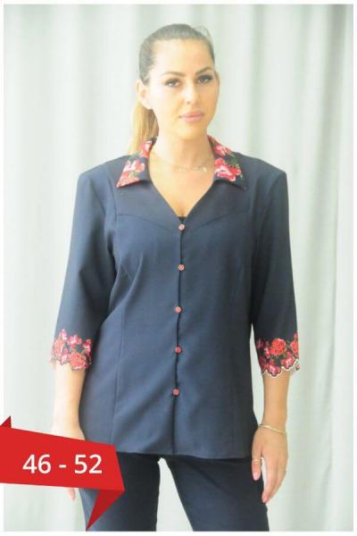 Bluza eleganta de ocazie pentru femei plinute - Bluze marimi mari [0]