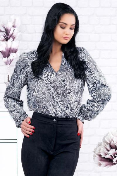 Bluza animal print tip body Eve - Bluze ieftine dama marimi mari 1