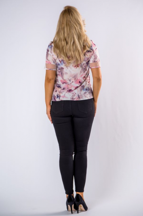 Bluza dama eleganta cu maneca scurta 2