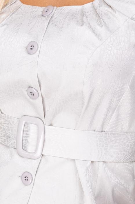 Bluza eleganta dama cu cordon si maneca lunga 2