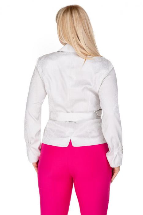 Bluza eleganta dama cu cordon si maneca lunga 1