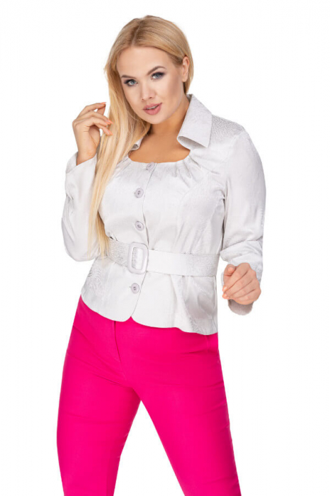 Bluza eleganta dama cu cordon si maneca lunga 3