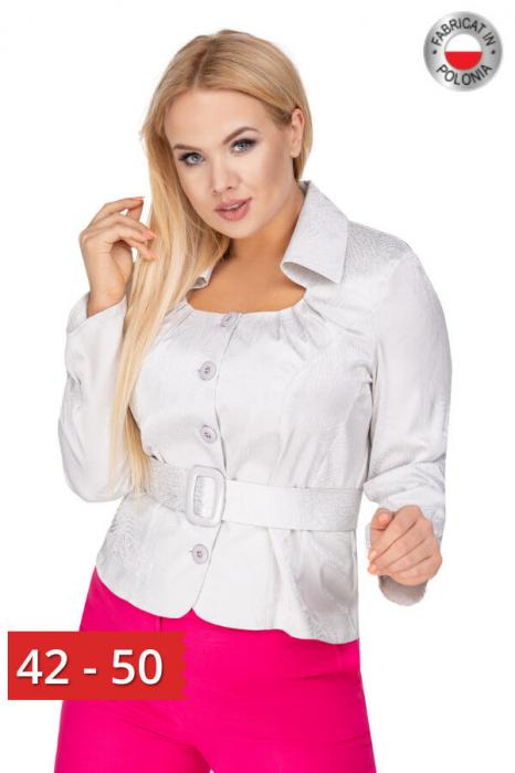 Bluza eleganta dama cu cordon si maneca lunga 0