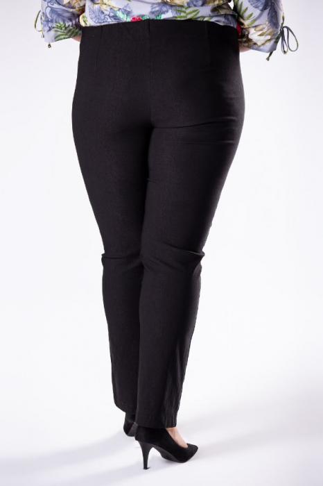 Pantaloni dama marimi mari negru import Polonia 1
