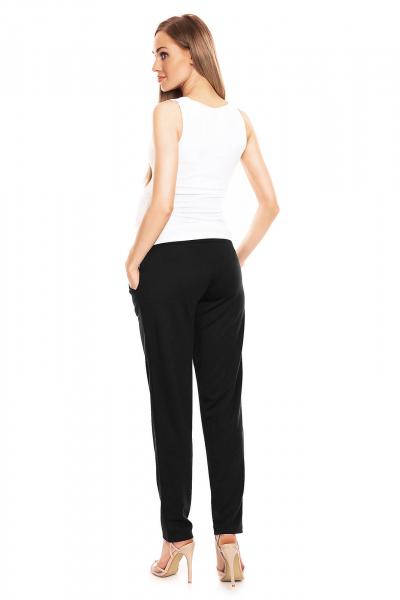 Pantaloni pentru gravide negru - Pantaloni conici gravide 2