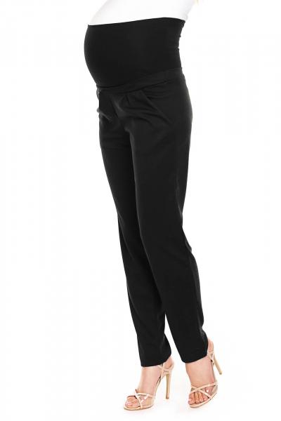 Pantaloni pentru gravide negru - Pantaloni conici gravide 1