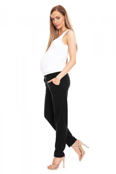 Pantaloni pentru gravide negru - Pantaloni conici gravide 3