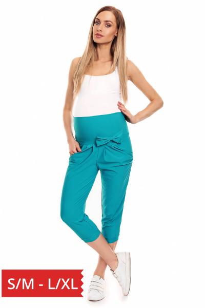 Pantaloni trei sferturi gravide - Pantaloni de vara pentru gravide [0]