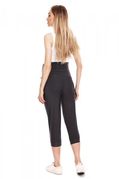 Pantaloni de vara gravide - Pantaloni trei sferturi pentru gravide 2
