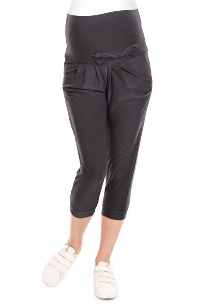 Pantaloni de vara gravide - Pantaloni trei sferturi pentru gravide 3