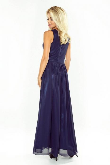 Rochii maxi elegante - Rochie lunga de seara  Numoco, bleumarin 1