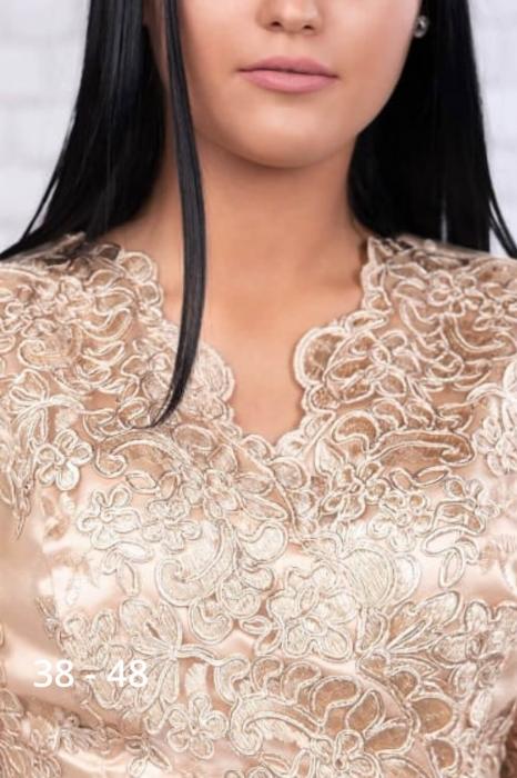 Rochii elegante de seara - Rochie grena de seara din catifea Carola 4