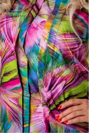 Bluza dama cu imprimeu multicolor2