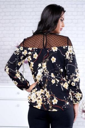 Bluza neagra dama marimi mari Fabiana1