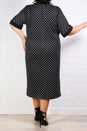 Compleu dama elegant 2 piese rochie si sacou negru3