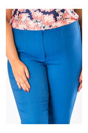 Pantaloni dama marimi mari albastru3