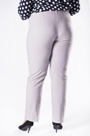 Pantaloni eleganti marimi mari gri1