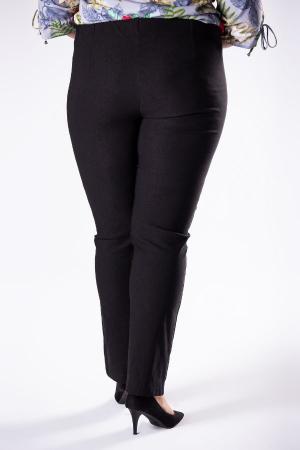 Pantaloni dama marimi mari negru1