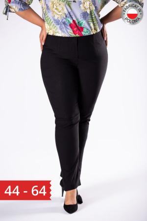 Pantaloni dama marimi mari negru0