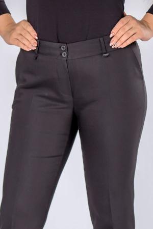 Pantaloni negri eleganti cu talie inalta3