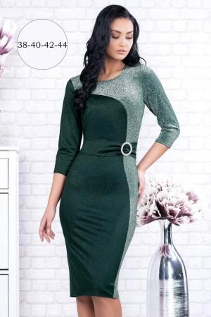 Rochie verde eleganta marimi mari Henrieta1