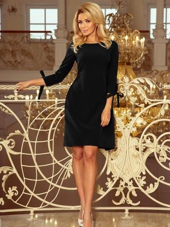 Rochie midi eleganta de ocazie Alice negru0